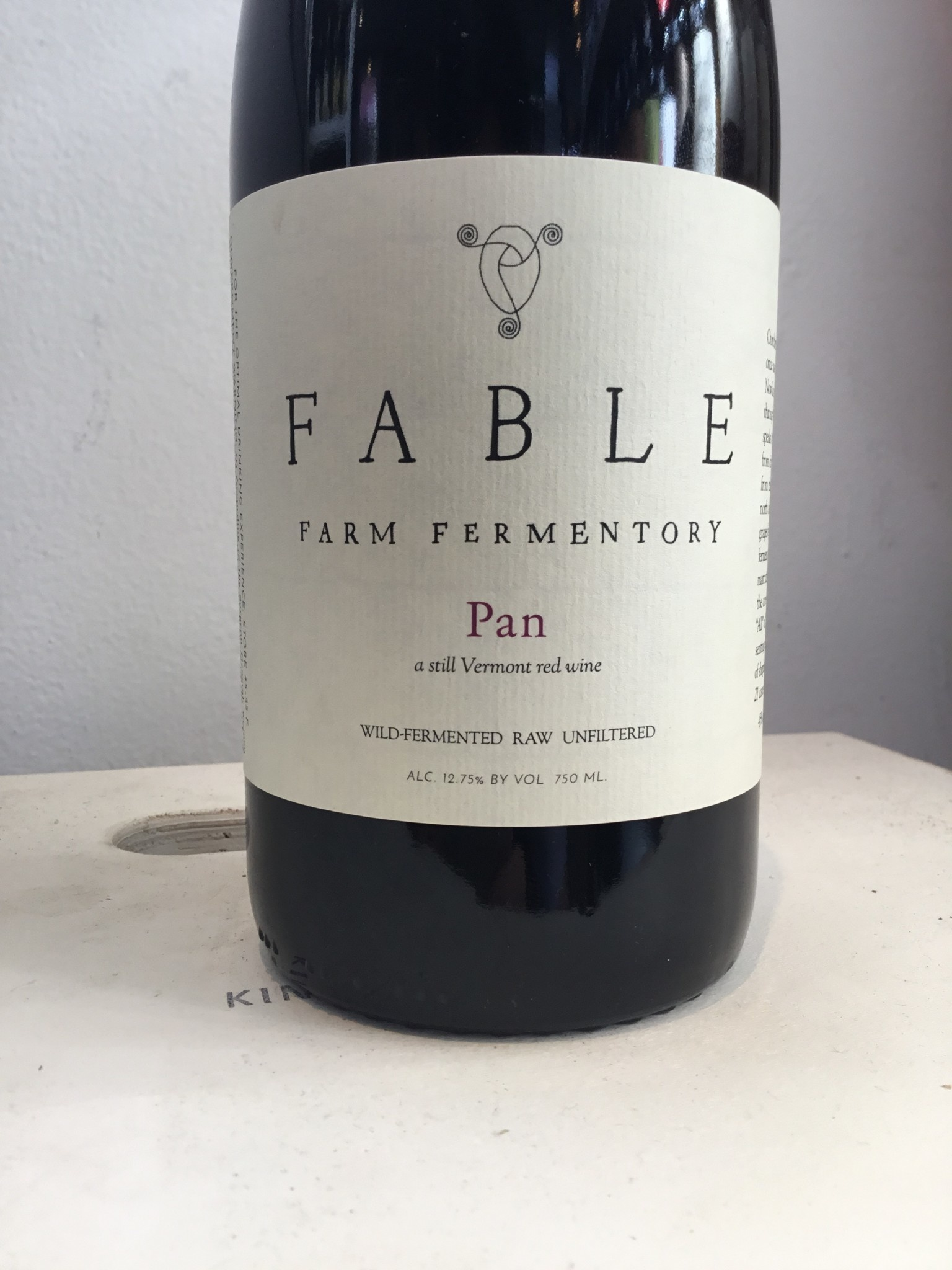 "NV Fable Farm Fermentory ""Pan"" Vermont Red, 750ml"