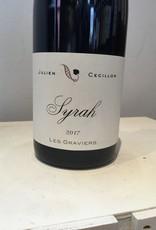 "2017 Julien Cecillon Syrah  VDF""Les Graviers"", 750ml"