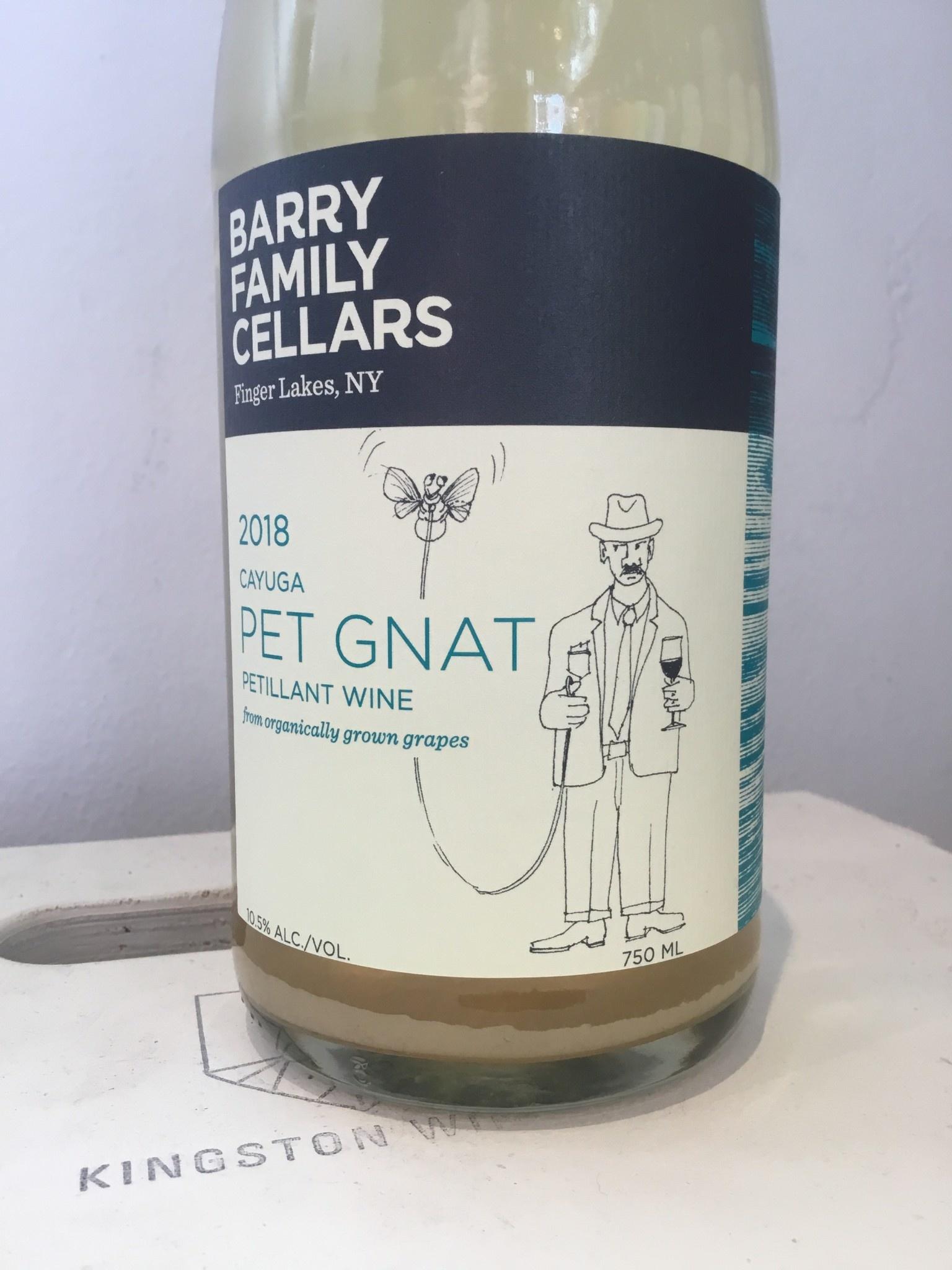 "2018 Barry Family Cellars Cayuga ""Pet Gnat"" Petillant, 750ml"