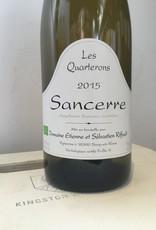 """2015 Domaine Riffault Sancerre """"Les Quarterons"""" Blanc, 750ml"""