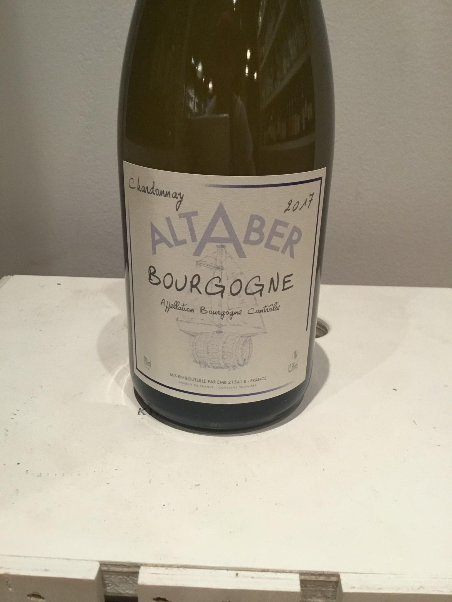 2017 Altaber Bourgogne Blanc, 750ml