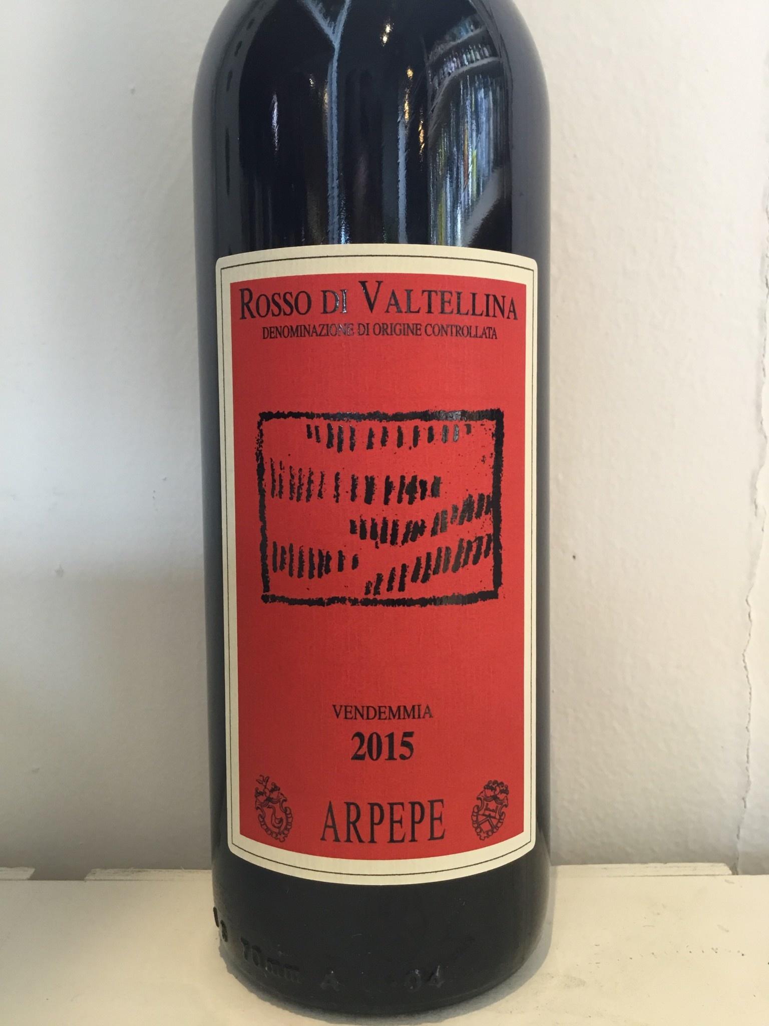 2015 Arpepe Rosso di Valtellina, 750ml