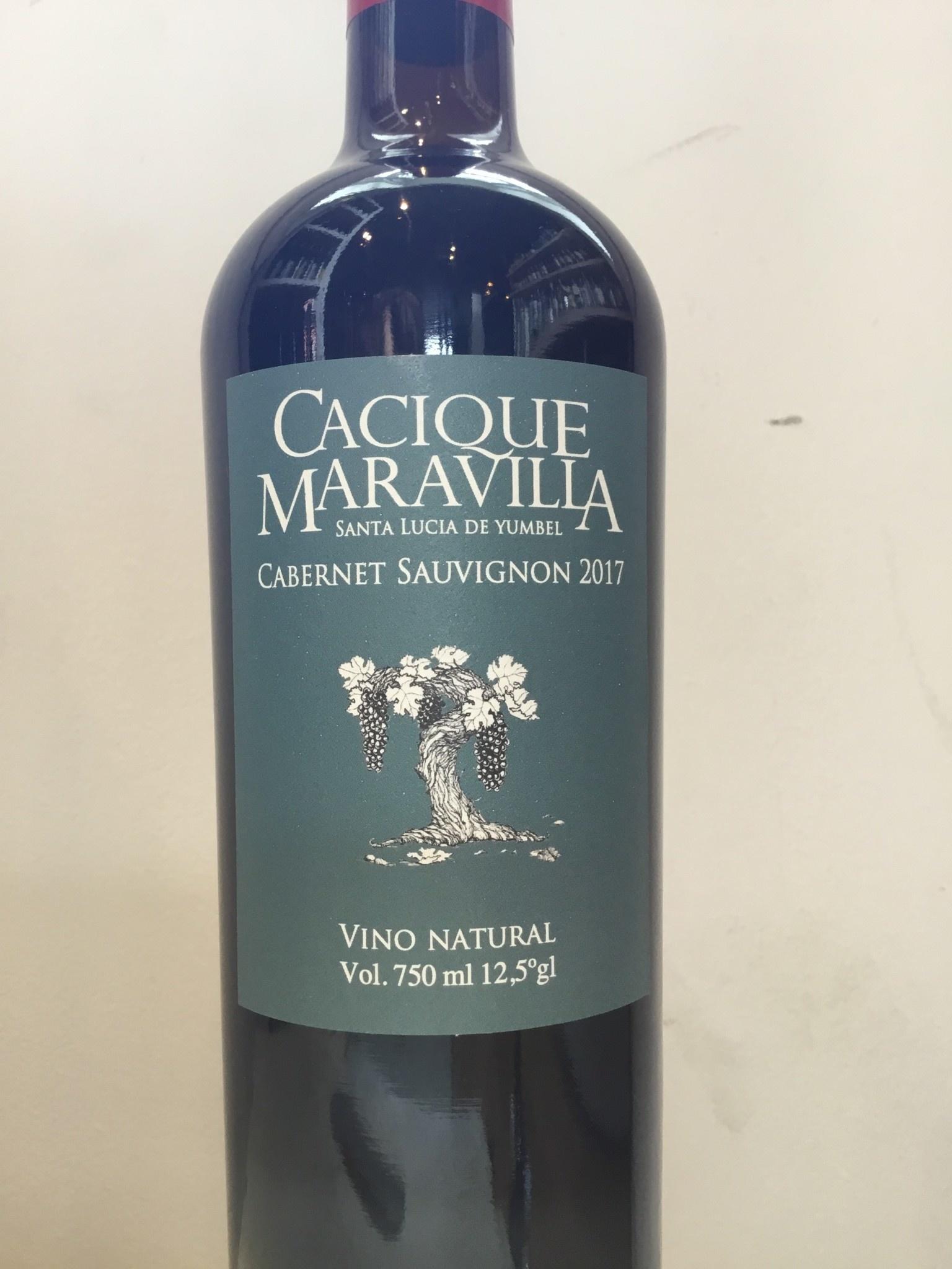 2017 Cacique Maravilla Cabernet Sauvignon, 750ml