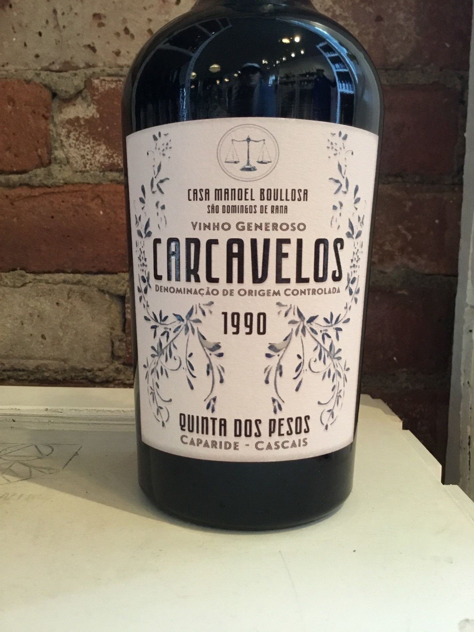 1990 Quinta dos Pesos Carcavelos, 500ml