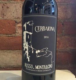 2016 Cerbaiona Rosso di Montalcino, 750ml
