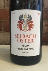 """2015 Selbach-Oster """"OMG"""" Riesling Trocken, 750ml"""
