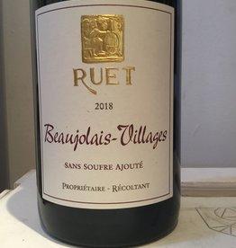 """2018 Domaine Ruet Beaujolais-Villages """"Sans Soufre Anjoute"""", 750ml"""