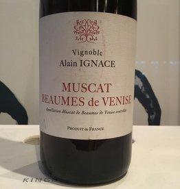 """2014 Vignoble Alain Ignace """"La Peche d'Emilie"""" Muscat Baumes de Venise Rouge, 500ml"""