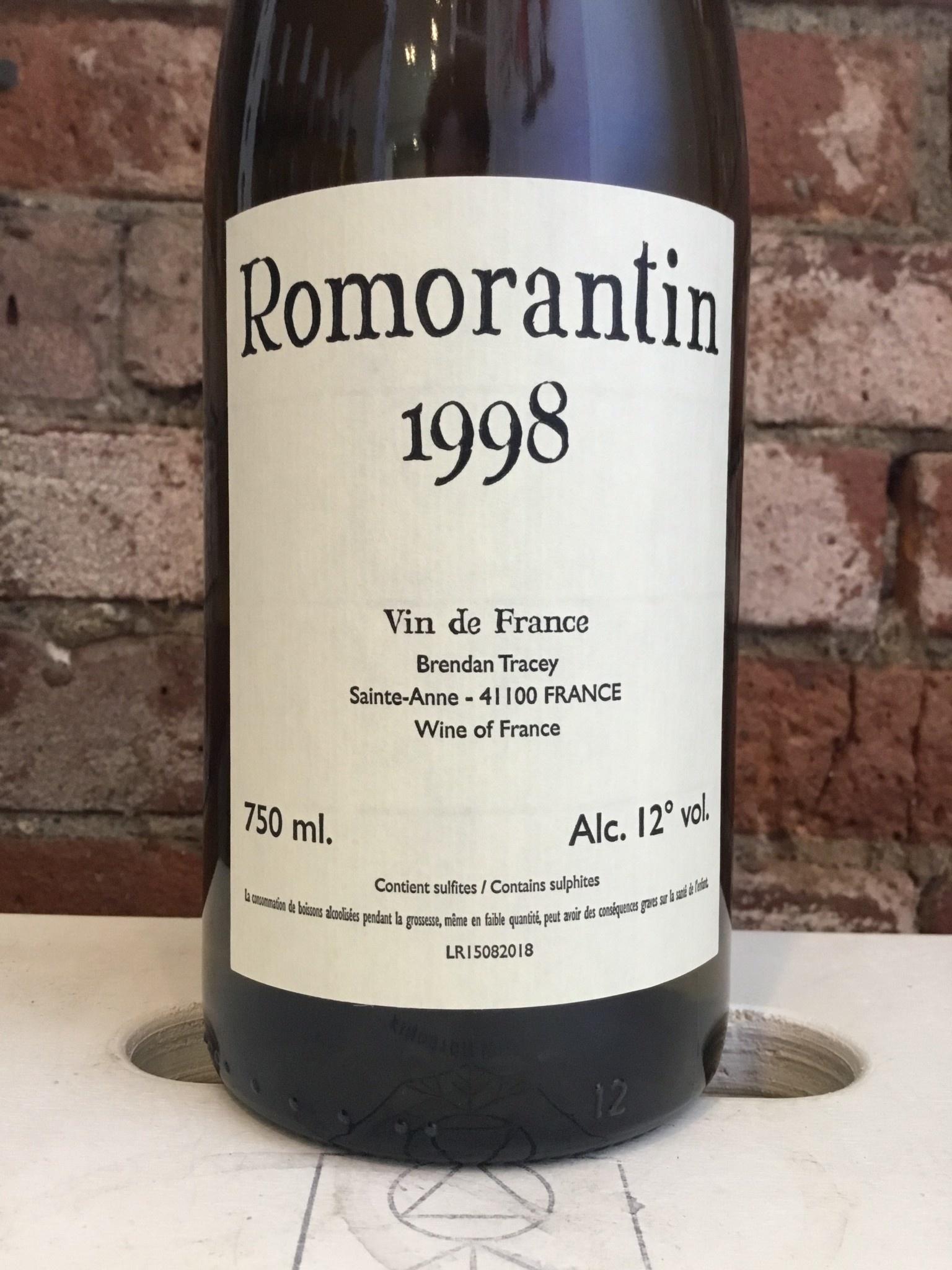 1998 Brendan Tracey Romorantin, 750ml