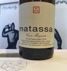 "2017 Matassa ""Cuvee Marguerite"" VDF Blanc, 750ml"