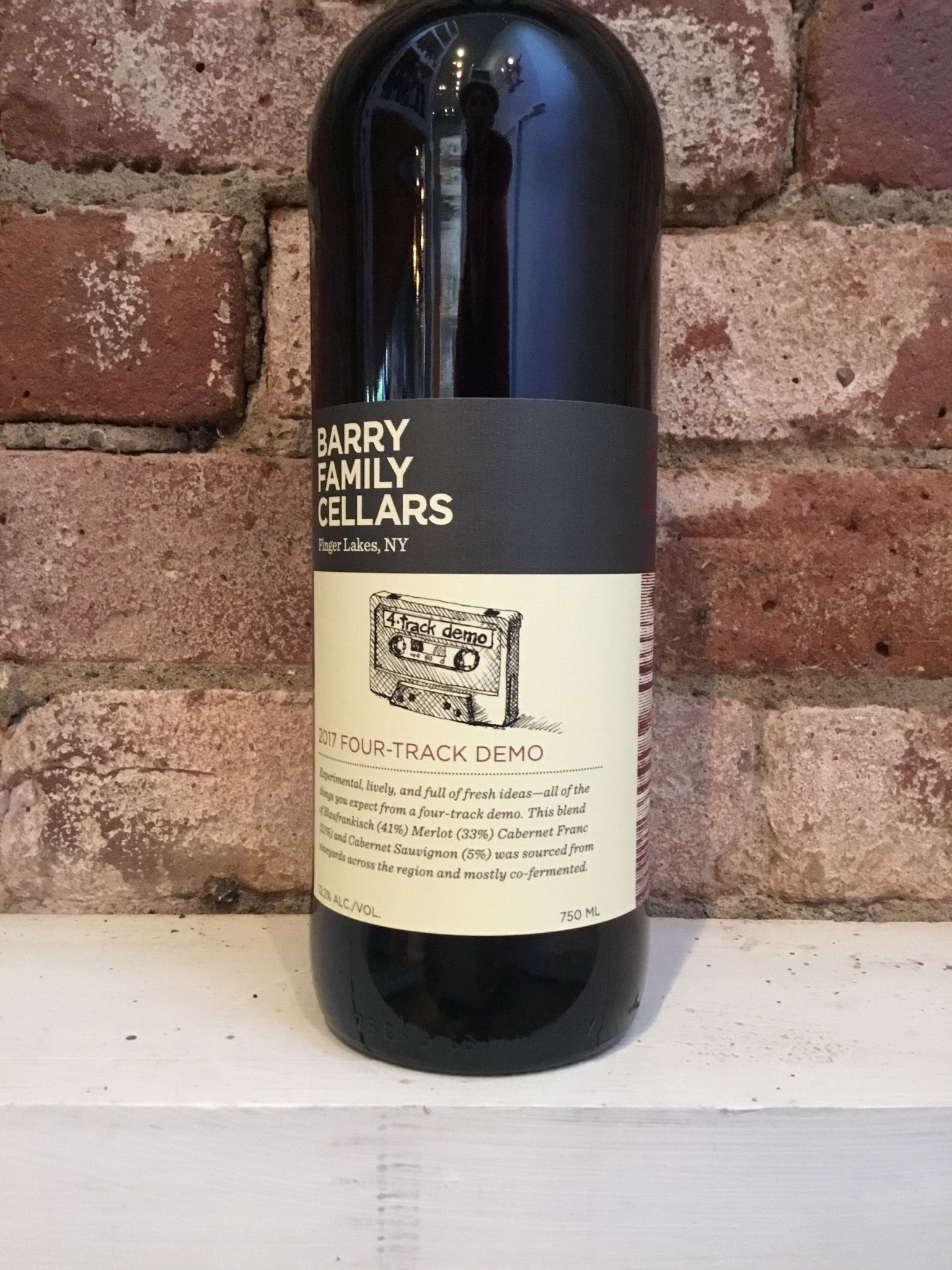 2017 Barry Family Cellars Four Track Demo,750ml