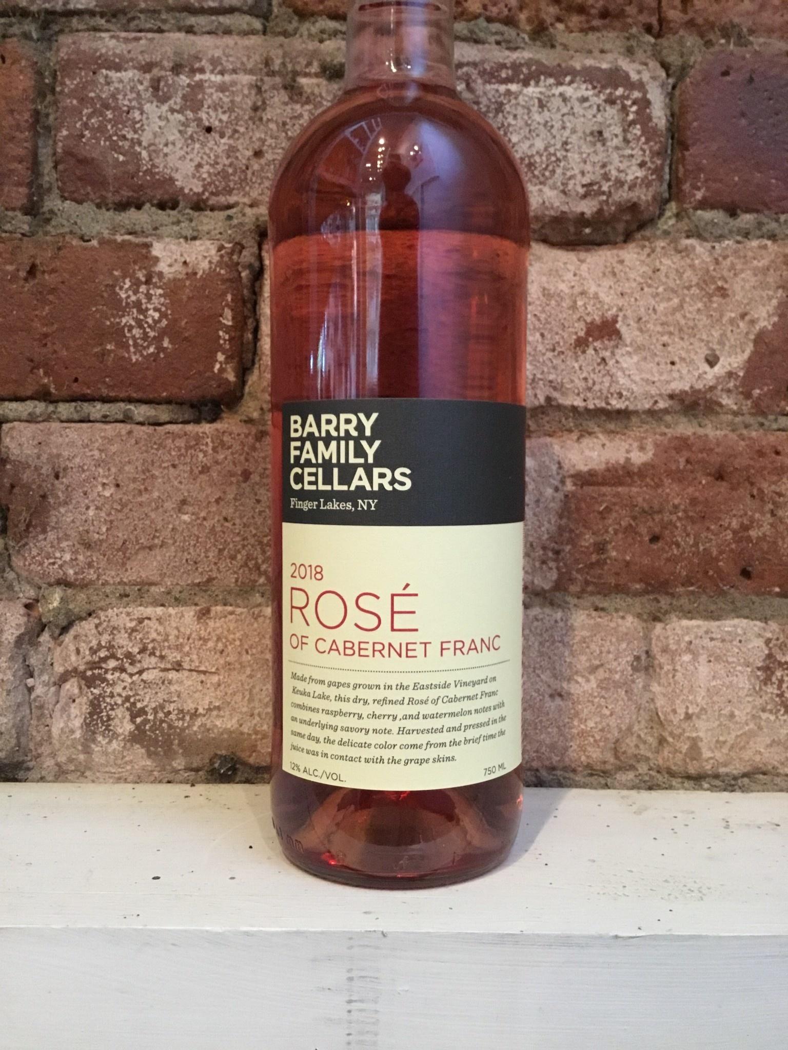 2018 Barry Family Cellars Rose,750ml