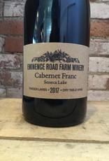 "2017 Eminence Road Farm Winery Cabernet Franc ""Seneca Lake"", 750ml"