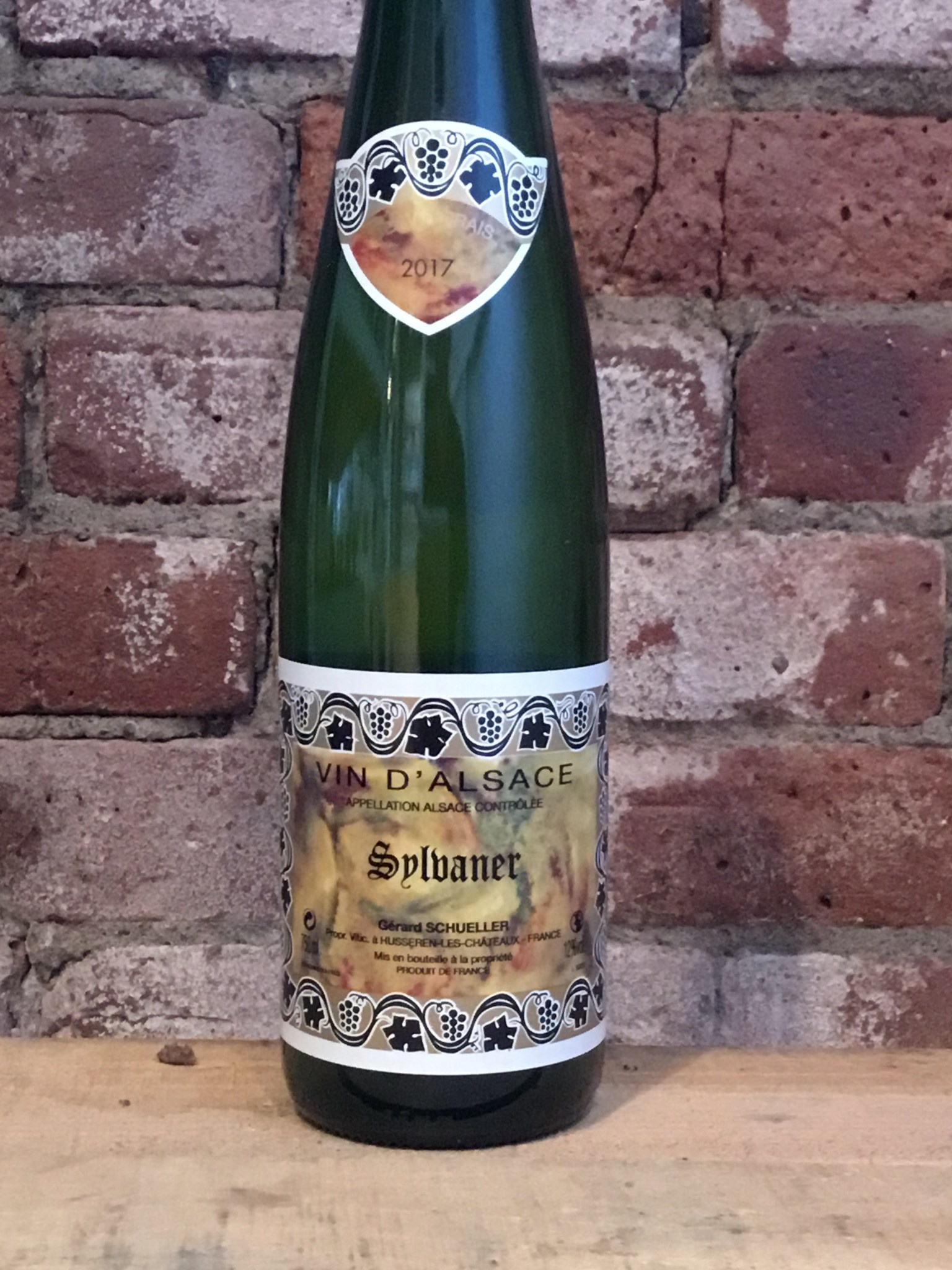 2017 Domaine Bruno Schueller Alsace Sylvaner, 750ml