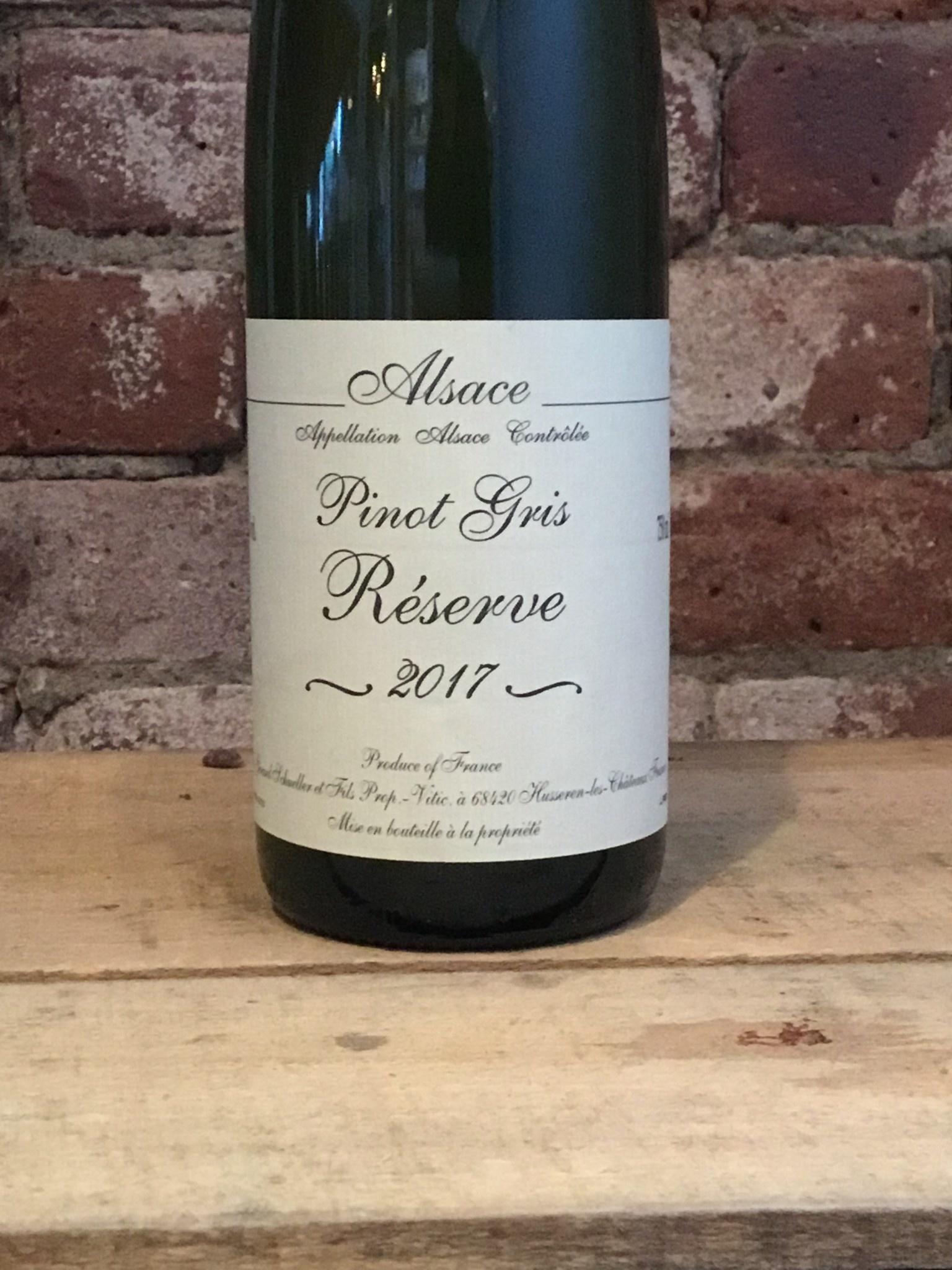 2017 Domaine Bruno Schueller Alsace Pinot Gris Reserve,750ml