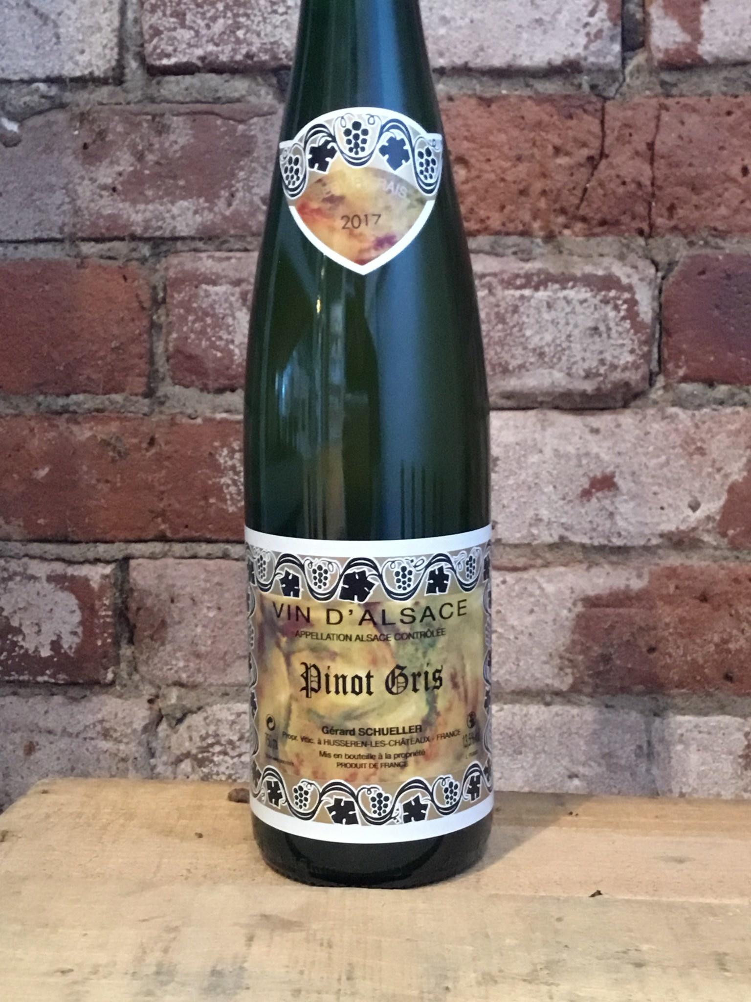 2017 Domaine Bruno Schueller Alsace Pinot Gris,750ml