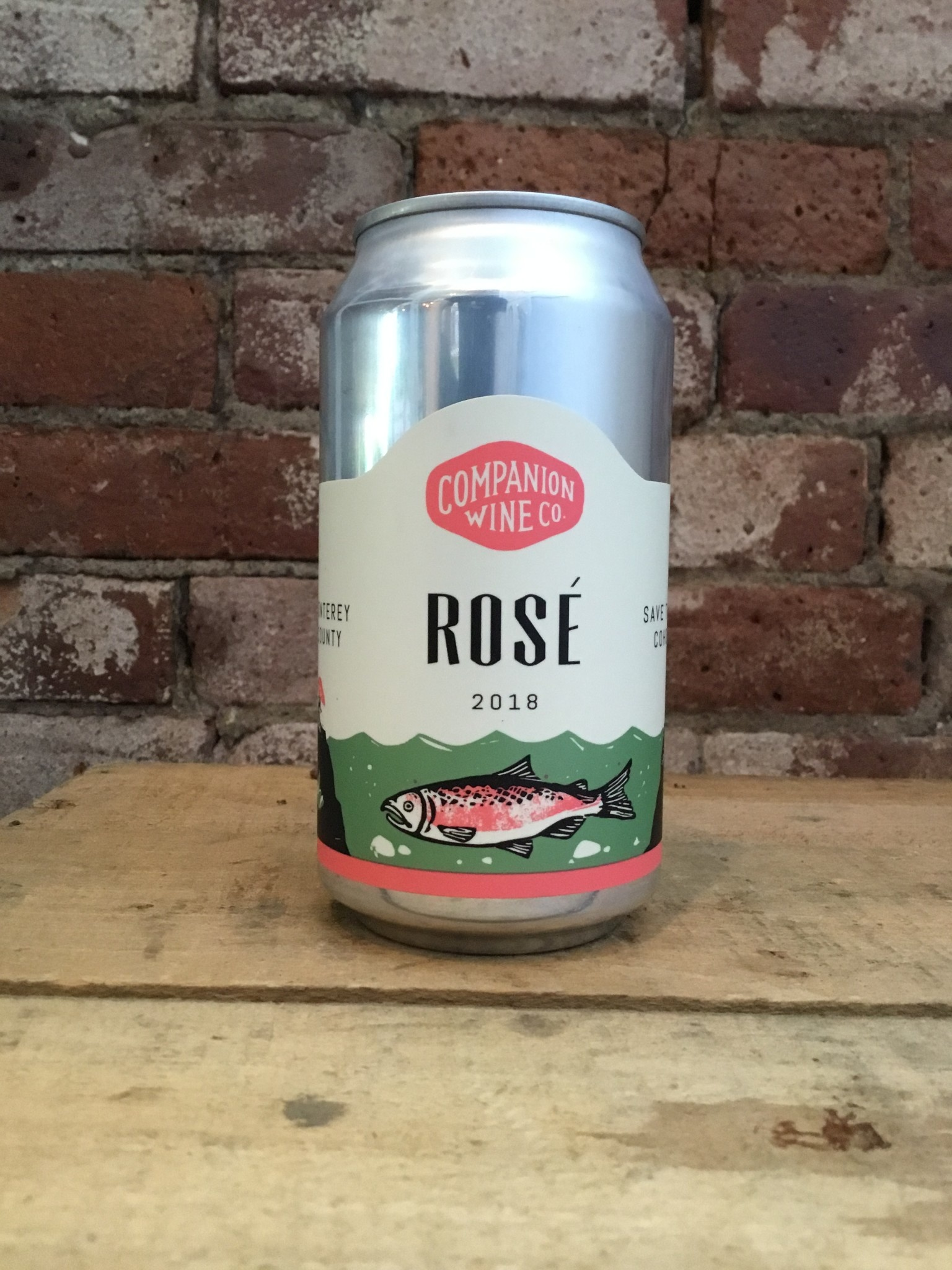 2018 Companion Wine Co. Rose, 375ml(CANS)