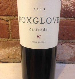 2015 Foxglove Zinfandel Paso Robles, 750ml