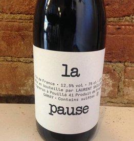 """2017 Laurent Saillard """"La Pause"""" Vin de France Rouge,750ml"""