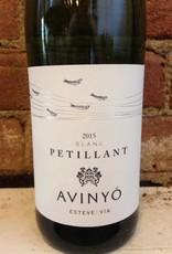2018 Avinyo Petillant Blanc Penedes,750ml