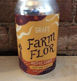 "Graft ""Farm Flor"" Cider, 12 oz CAN"