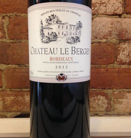 2018 Chateau Le Bergey Bordeaux Rouge, 750ml
