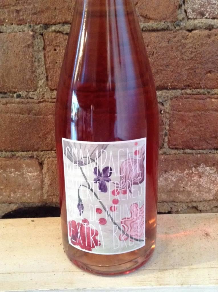 NV Laherte Freres Champagne Rose de Meunier Extra Brut,750ml