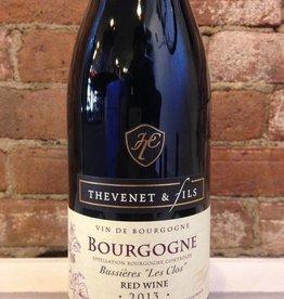 """2017 Thevenet et Fils Bourgogne Rouge """"Le Clos Bussieres"""", 750ml"""