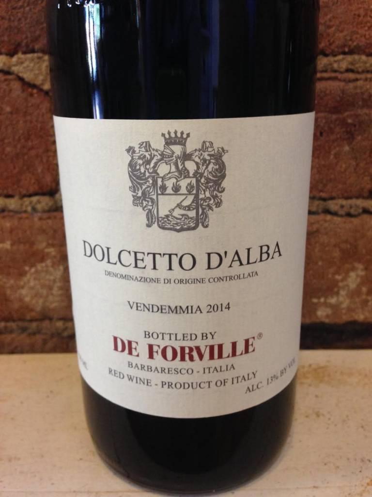 2017 De Forville Dolcetto d'Alba, 750ml