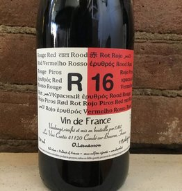 "2016 Vin Contes Lemasson ""R 16"" VDF Rouge, 750ml"