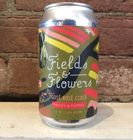 """Graft """"Fields & Flowers"""" Gose Rose Cider, 12oz Can"""