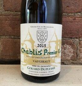"2016 Gerard Duplessis ""Vaugiraut"" Chablis Premier Cru, 750ml"
