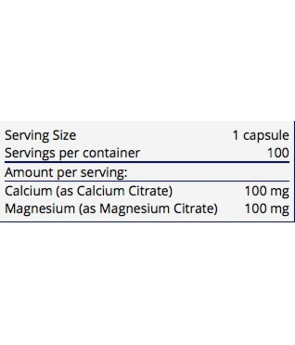 Allergy Research Group Calcium / Magnesium Citrate