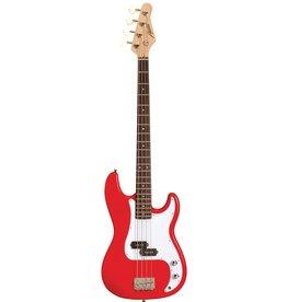 Austin Austin P-Bass Red