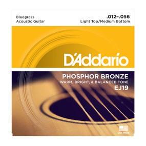 D'addario D'Addario EJ19 Bluegrass 12-56