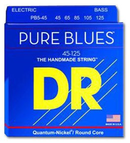 DR Strings DR Pure blues 5 String Electric Bass Set