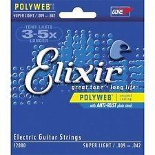 Elixir Elixir  Elect Poly Super Lt .009-.042