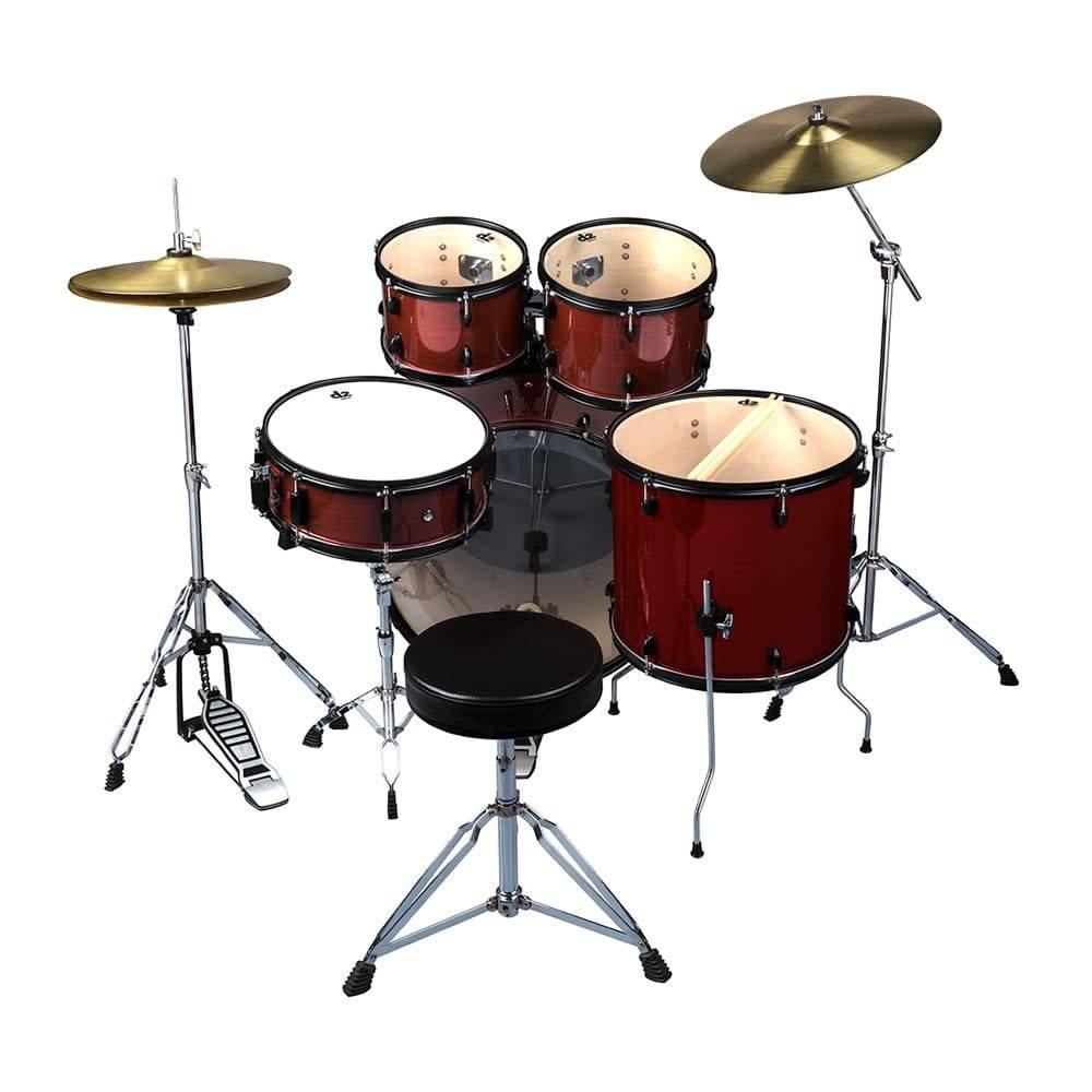 Ddrum 5pc Drum Set Red Pinstripe Arbor Music