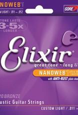 Elixir Elixir Nano Bronze Cust/Lt
