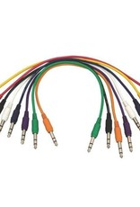 """Hot Wires Patch Cables 17"""" RA 8pk"""