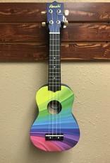 Wavy Rainbow Soprano Ukulele