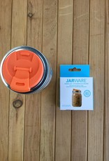 Mason Jar with Plastic Drink Lid