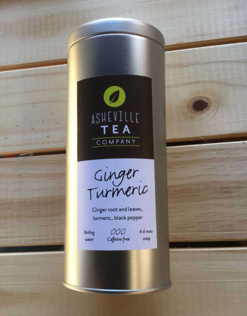 Asheville Tea Company Tea Bag Tin Ginger Turmeric