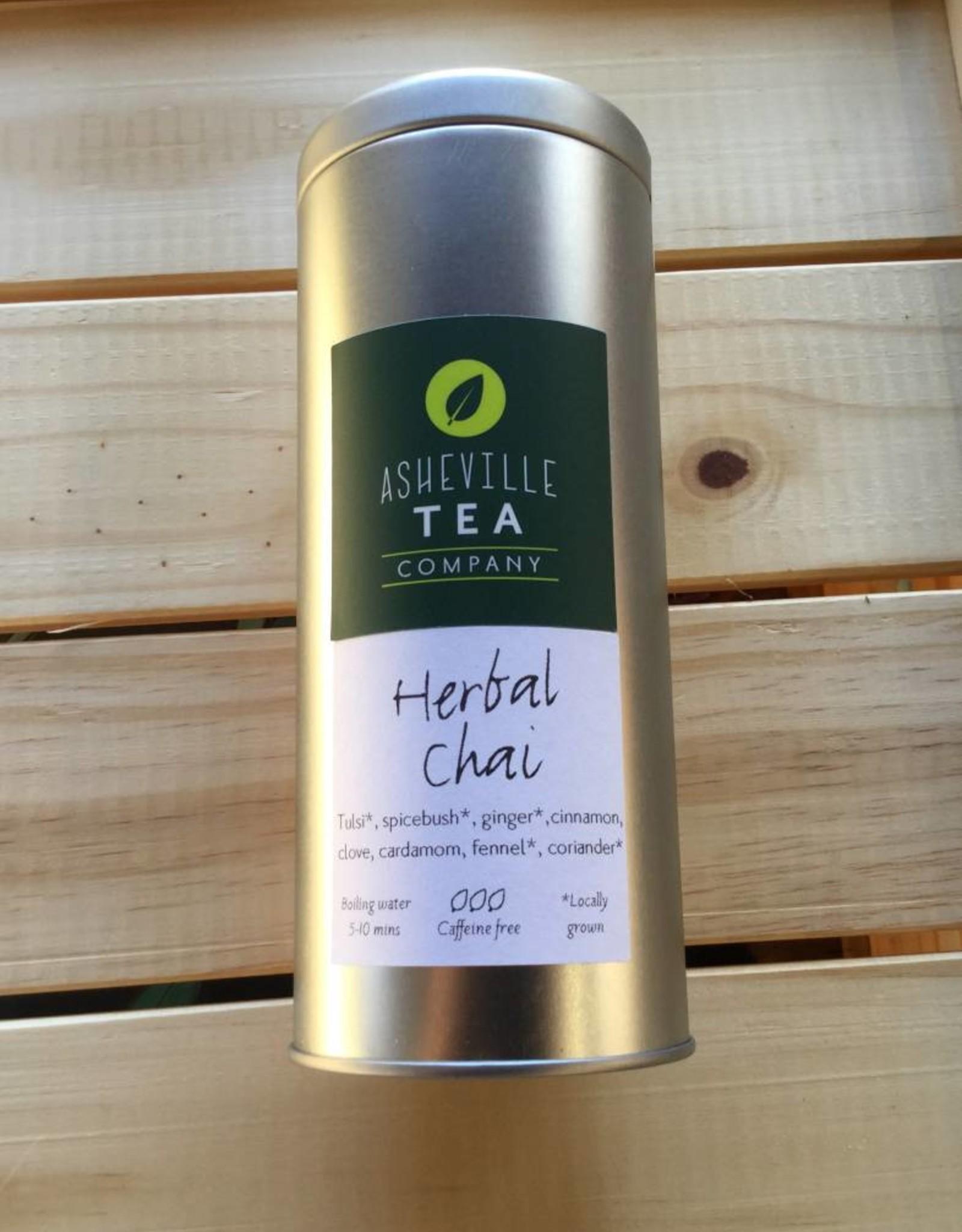 Asheville Tea Company Tea Bag Tin Herbal Chai