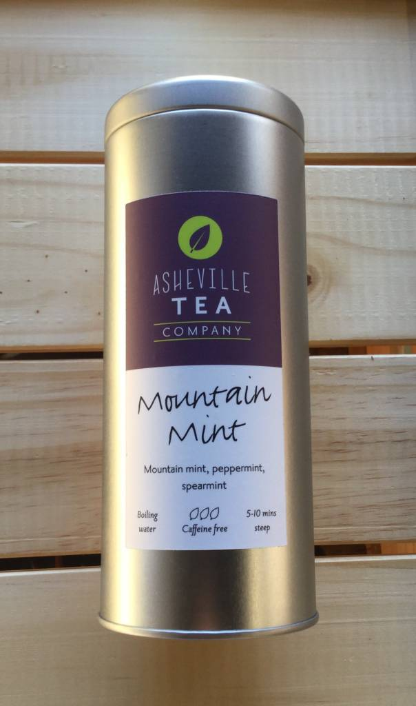 Asheville Tea Company Tea Bag Tin Mountain Mint