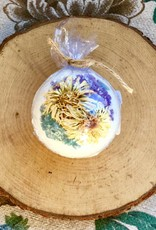 Calendula + Seasonal Herb Bath Bomb