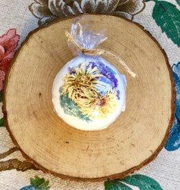 Calendula + Seasonal Herb Bath Bomb