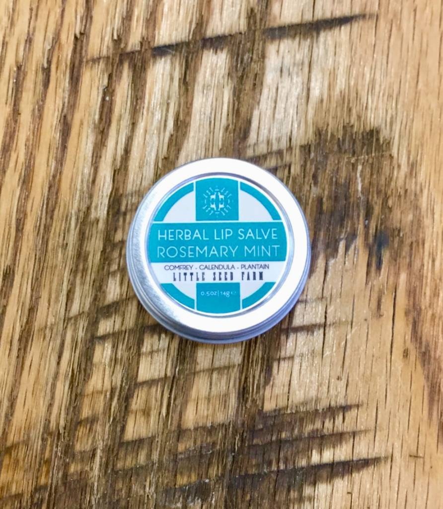 Rosemary Mint Lip Salve