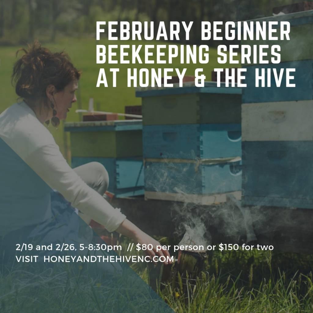 February Beginner Beekeeping Class - Couples