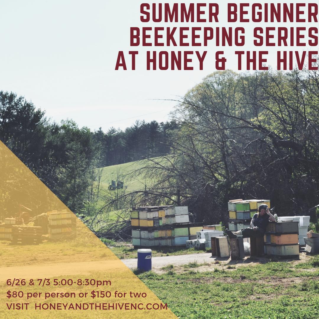 Summer Beginner Beekeeping Class - Couples